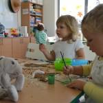 Dziś w naszym MiniPrzedszkolu wyrosły grzyby…