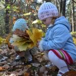 MiniPrzedszkole: Jesienią najbardziej lubimy liście.