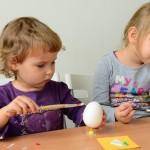 Dziś dzieci zdobiły wielkanocne jajka